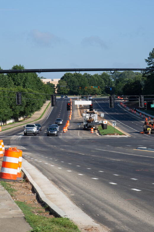 Satellite Boulevard Road Construction