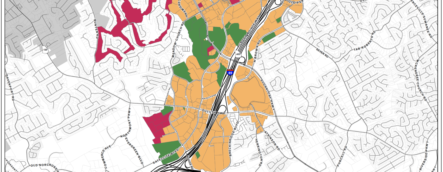 Sugarloaf CID Expansion Map